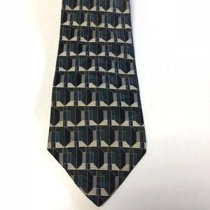 Italian silk Tie, Henry Grethel